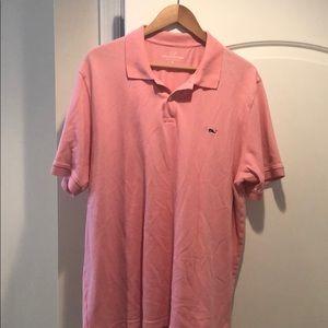 Vineyard Vines Shirts - Pink vineyard vines polo.